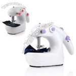 High Quality Mini Fashion Portable Desktop Battery Operated Sewing Machine For Home