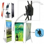 High Tension X-Banner Stand Displays