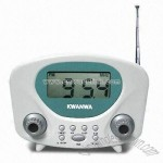 High-sensitivity FM Digital Display Radio with Clock Control and LCD Frequency Display