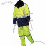 High visibility safety jacket & solid colour pant
