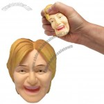 Hillary Clinton Head Stress Ball