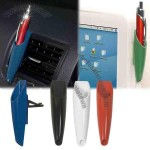 Holds-it - Caddy, Holds Pens And Pencils With Clip That Can Be Adjusted Vertical Or Horizontal