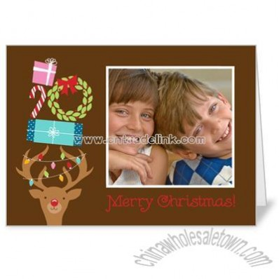 Holiday 5x7 folded card
