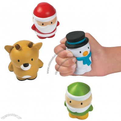Holiday Character Stress Toys
