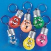 Holiday Lightbulb Light-Up Key Chains