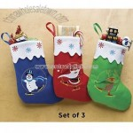 Holiday Stocking Totes
