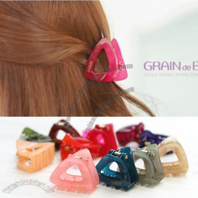 Hollow Candy Color Hairclip