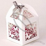 Hollow-out Butterfly Wedding Candy Gift Box