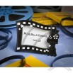 Hollywood Movie Themed Place Card or Photo Frame Favors