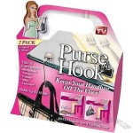 Hollywood Purse Hook Table Hanger for Pocketbooks - As Seen On TV