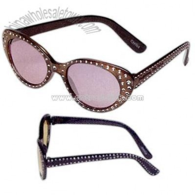 Hollywood style sunglasses