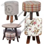 Home Decorative Wooden Stool