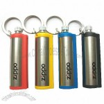 Honest Polished Lightweight Durable Permanent Match Fuel Cigarette refillable Lighter With Keychain
