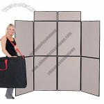 Horizon 8 Panel Trade Show Display with Carry Bag, Fast Folding