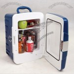 Horizontal style mini cooler/heater/car fridge