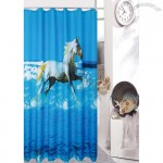 Horse Design Shower Curtain