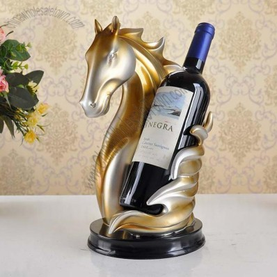 Horse Head Wine Bootle Holder