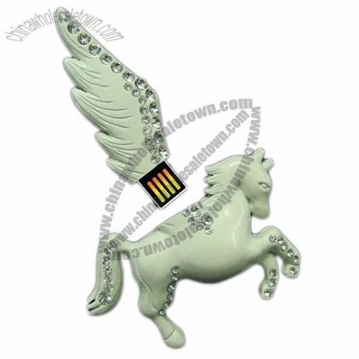Horse Jewelry USB Flash Drive Stick