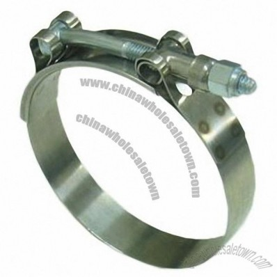 Hose Clamp, Suitable for Different Kinds of Flanges