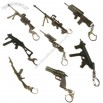 Hot 3D Gun Shape Metal Keychain