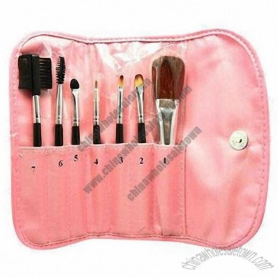 Sell Makeup on Hot Sell Blusher Makeup Brushes Set With 7pcs Brushes  Wholesale China