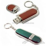 Hot Selling Leather USB Flash Drive