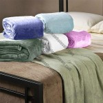 Hotel Collection Therma Plush Blankets