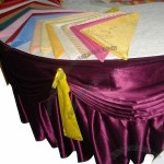Hotel Table Skirt For Banquet