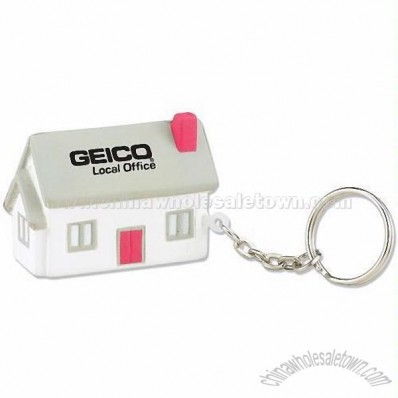 House Key Chain Stress Reliever