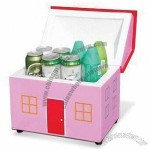House Shaped 6L Cosmetic Cooler Box