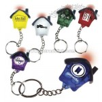 House Shaped Keylight Key Chain