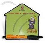 House Shaped Magnetic Memo Message Board
