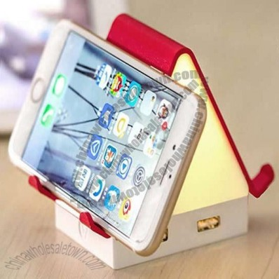 House Shaped USB HUB Night Light and Cellphone Holder