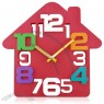 House Shaped Wall Clock