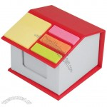 House Sticky Note Dispenser