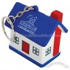 House Stress Relievers Ball with Key ring