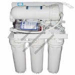 Household (RO) water filter, restrain regrowth of germs and improve the taste of pure water