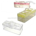Household Transparent Storage Box