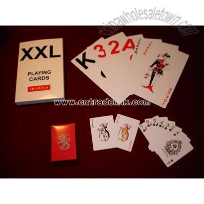 Huge Size Playing Cards