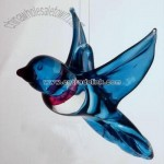 Hummingbird Glass Art