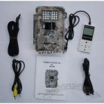 Hunting Camera: 5.0 MP+Waterproof+ Remote Control+Night Vision+24 IR LED Ranging 12meters
