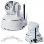 IP Camera with H.264 Compress Format and 5V DC Power