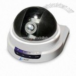 IP Dome Camera with Audio Function