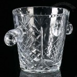 Ice Buckets - personalized hand cut lead crystal