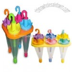 Ice Cream Popsicle Mould in Umbrella Shape