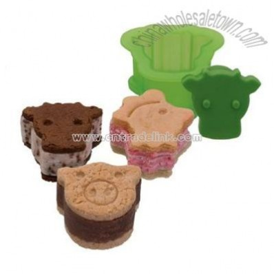 Ice Cream Sandwich Mold Set of 3