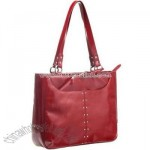 Icon Charm Laptop Tote Bag - Red