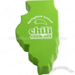 Illinois Shape Stress Ball