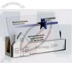 Imc Collection Namesake Business Card Holder W/ House Molded Icon