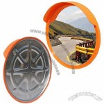 Impact Traffic Safety Mirror with Galvanized Steel Backboard